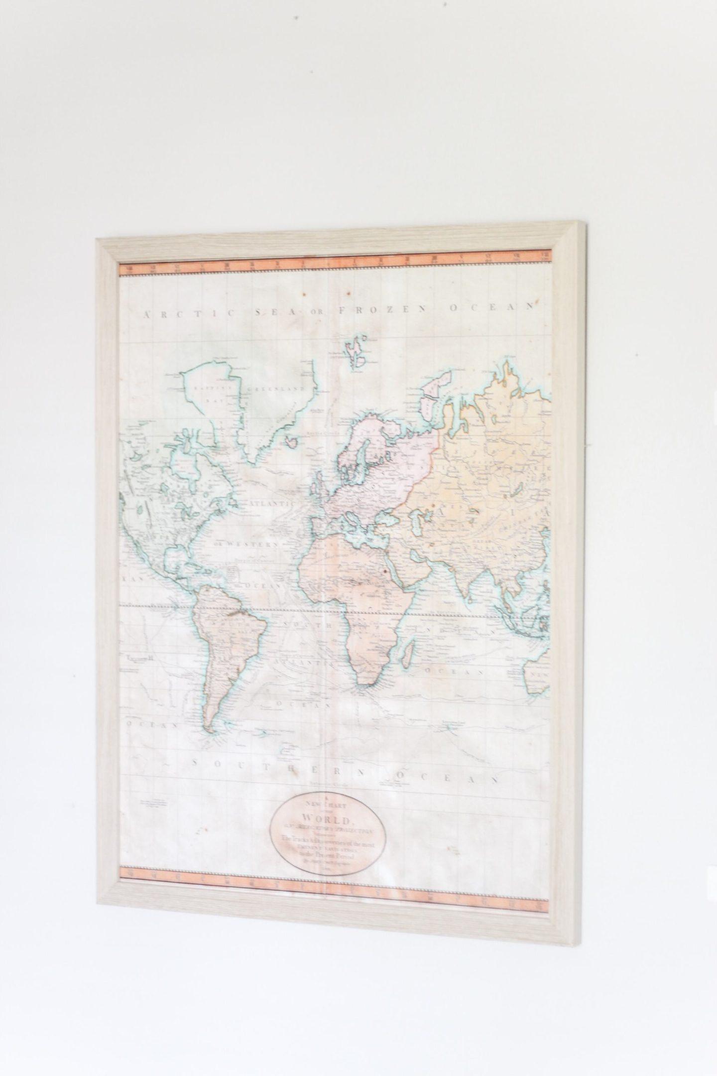 Nursery Map Print