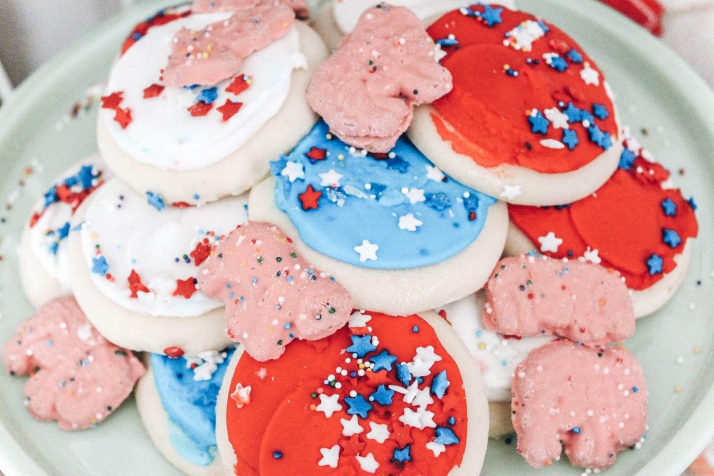 Circus Birthday Party Cookies